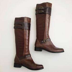 COLE HAAN Tennley Buckle Boots